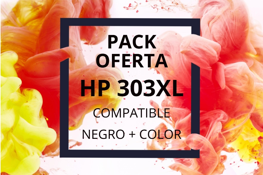 Pack Oferta Cartuchos HP 303XL