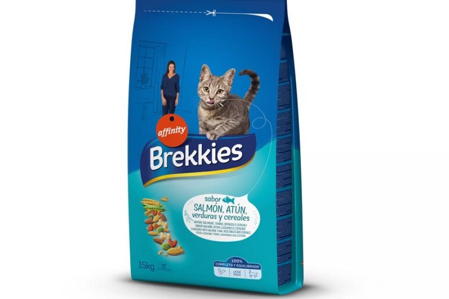PIENSO PARA GATO BREKKIES EXCEL CAT MIX PESCADO 1,5KG