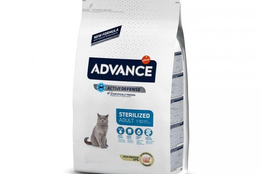 PIENSO PARA GATO ADVANCE CAT STERILIZED 400GR
