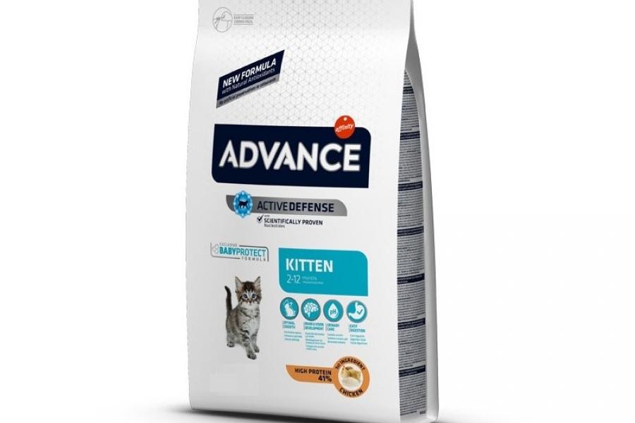 PIENSO PARA GATO ADVANCE CAT KITTEN CHICKEN 1,5KG