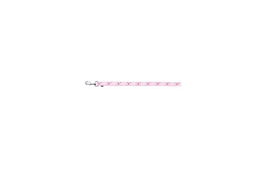 CORREA MODERM ART ROSE HEART DE NYLON XS - XS, 1,20 m/15 mm