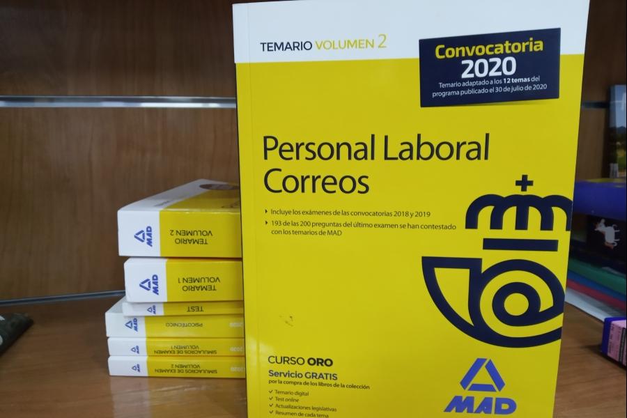 PERSONAL LABORAL CORREOS TEMARIO VOL 2