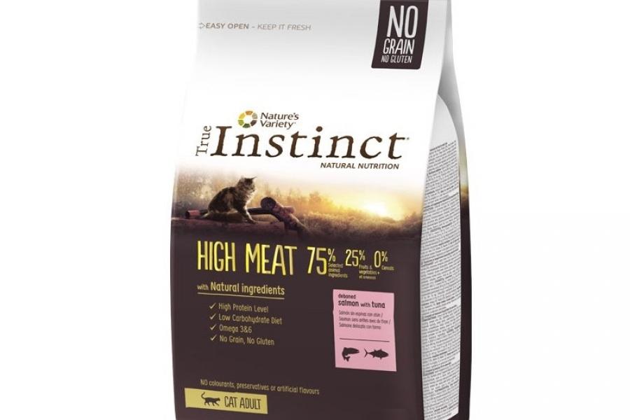 PIENSO PARA GATO INSTINCT CAT HIGH MEAT SALMON 1KG