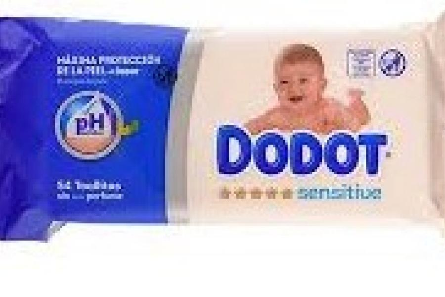 TOALLITAS DODOT SENSITIVE