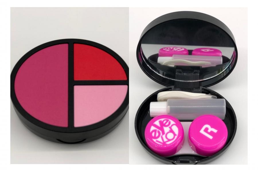 Portalentes color rosa