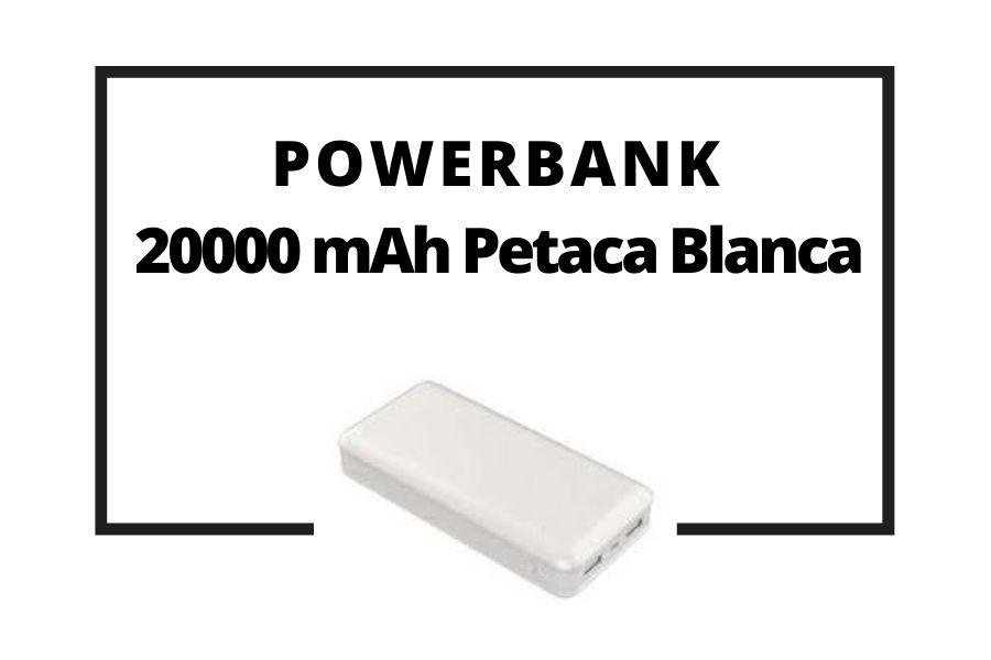Powerbank 20000 mAh Petaca