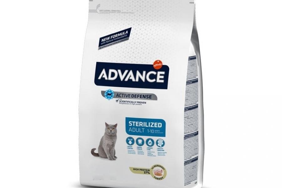 PIENSO PARA GATO ADVANCE CAT STERILIZED 3KG