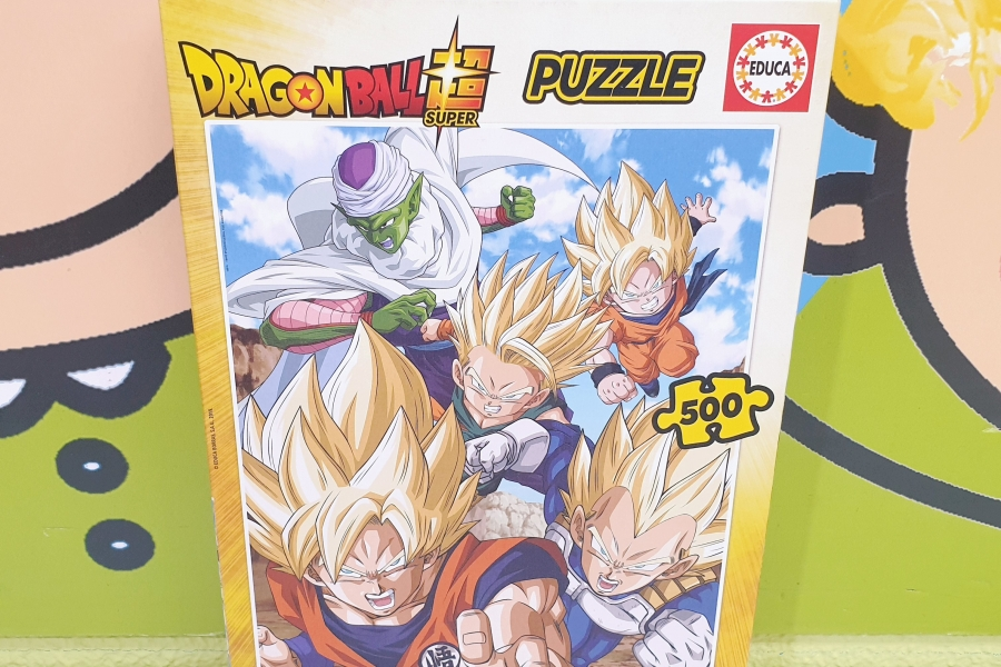 PUZZLE 500 PIEZAS DRAGON BALL