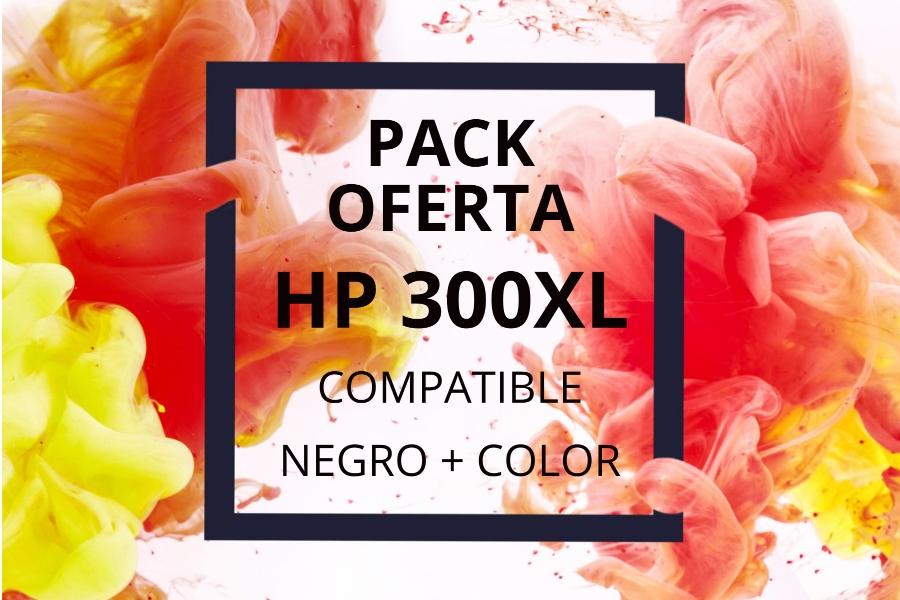 Pack Oferta Cartuchos HP 300XL