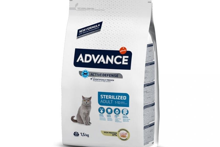 PIENSO PARA GATO ADVANCE CAT STERILIZED 1,5KG