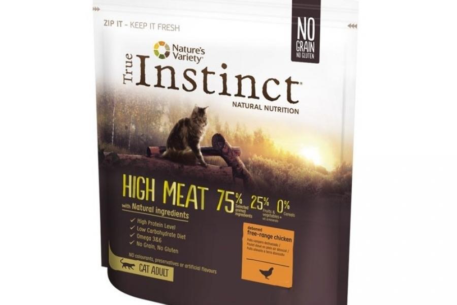 PIENSO PARA GATO INSTINCT CAT HIGH MEAT POLLO 0,3KG