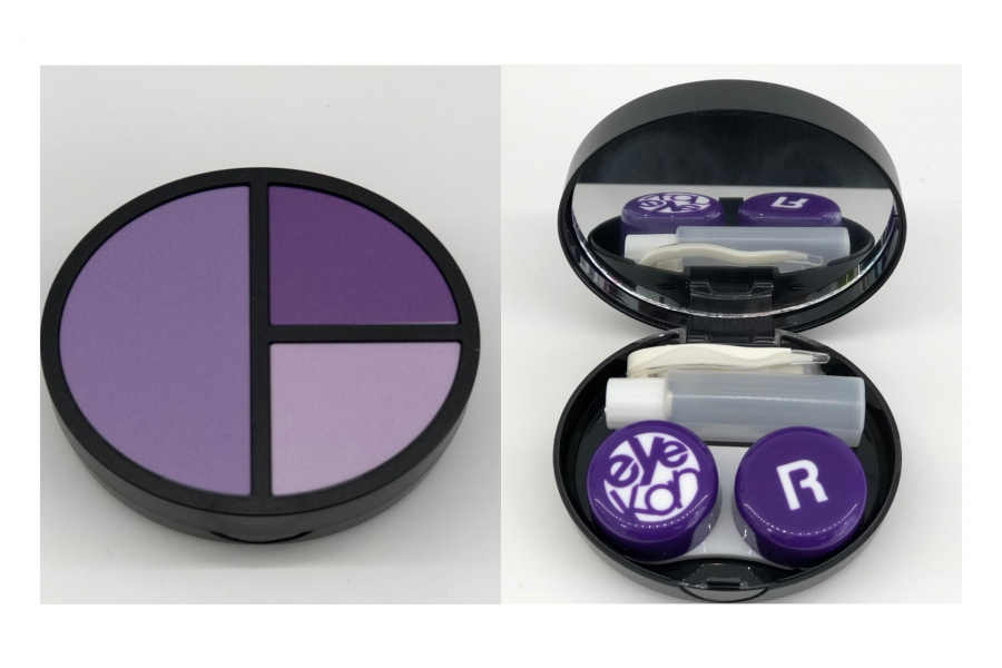 Portalentes color violeta