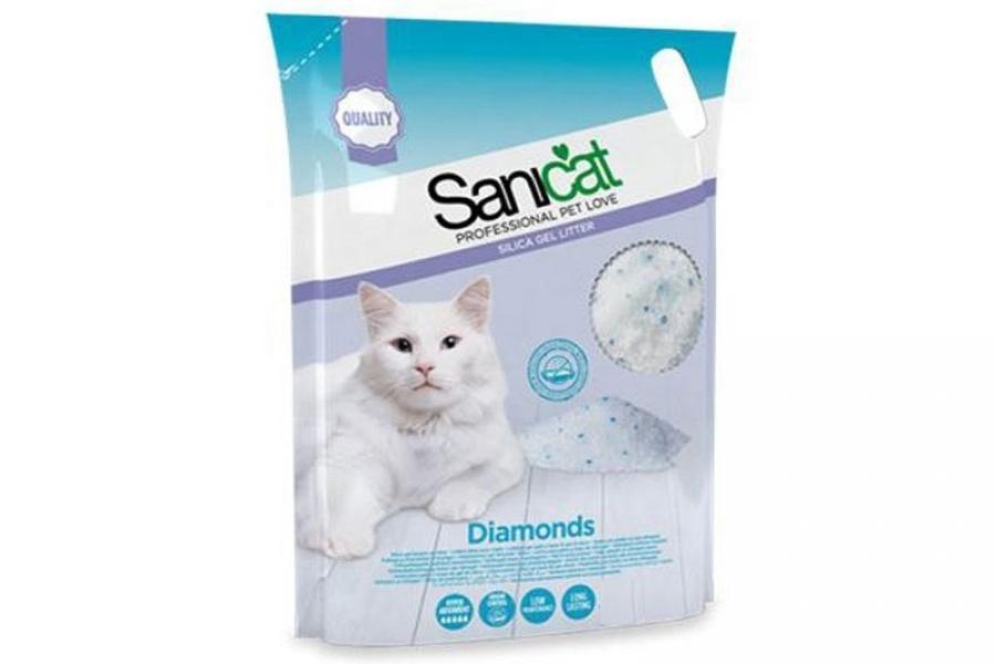 ARENA PARA GATO / LECHO PARA GATO SANICAT DIAMONDS 15L