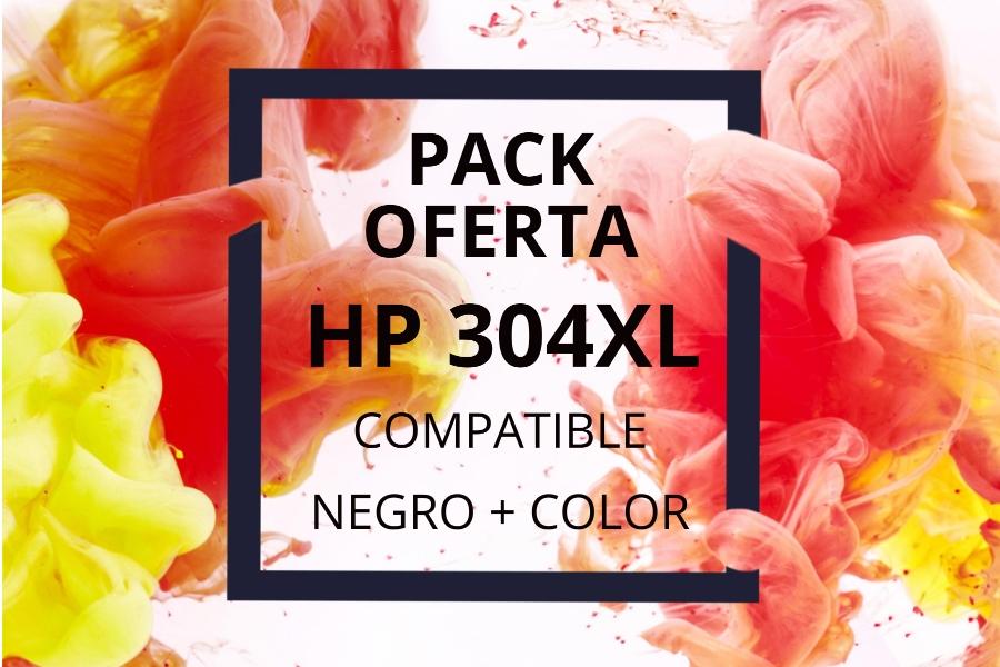 Pack Oferta Cartuchos HP 304XL