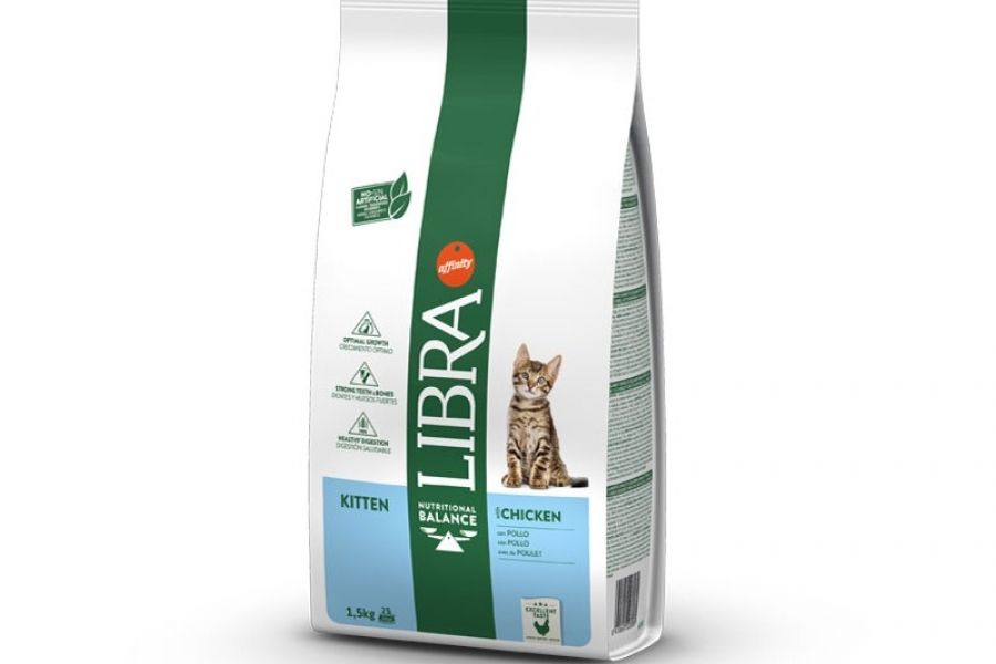 PIENSO PARA GATO LIBRA CAT KITTEN 1.5 KG