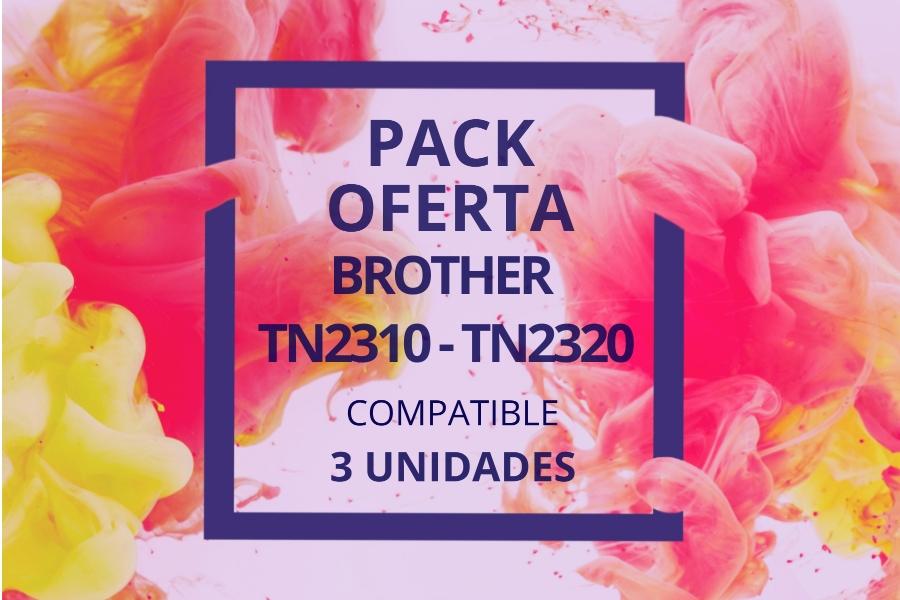 Pack Oferta Tóner TN2310 - TN2320