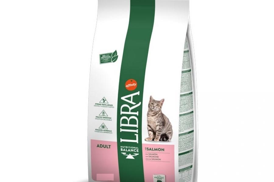 PIENSO PARA GATO LIBRA CAT ADULT SALMON 1,5KG