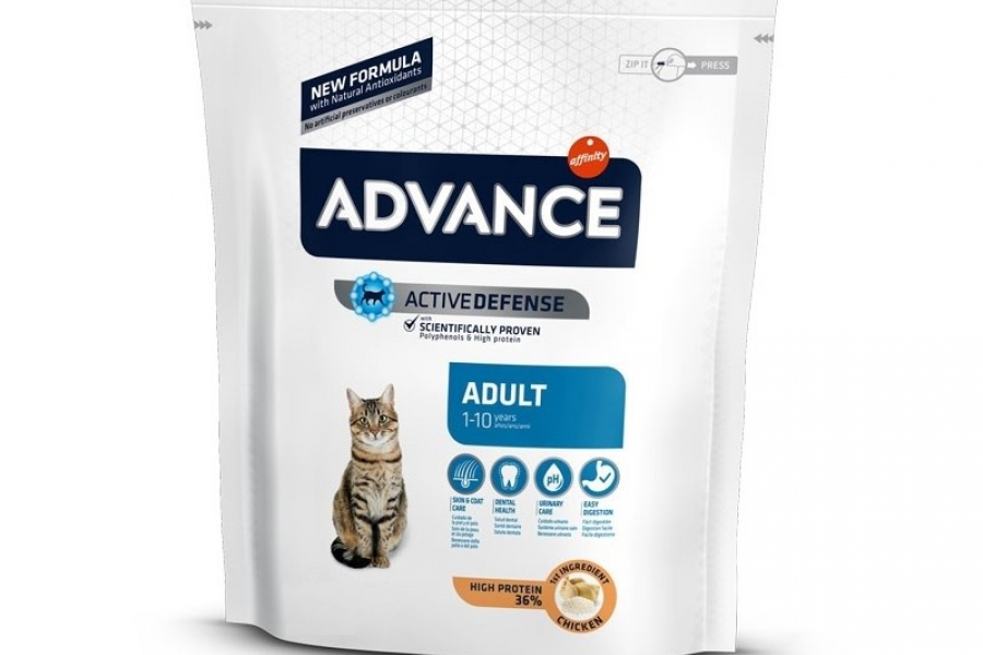 PIENSO PARA GATO ADVANCE CAT ADULT CHICKEN 0,4KG