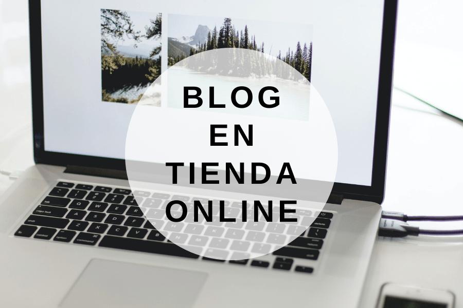 Blog en tu Tienda Online