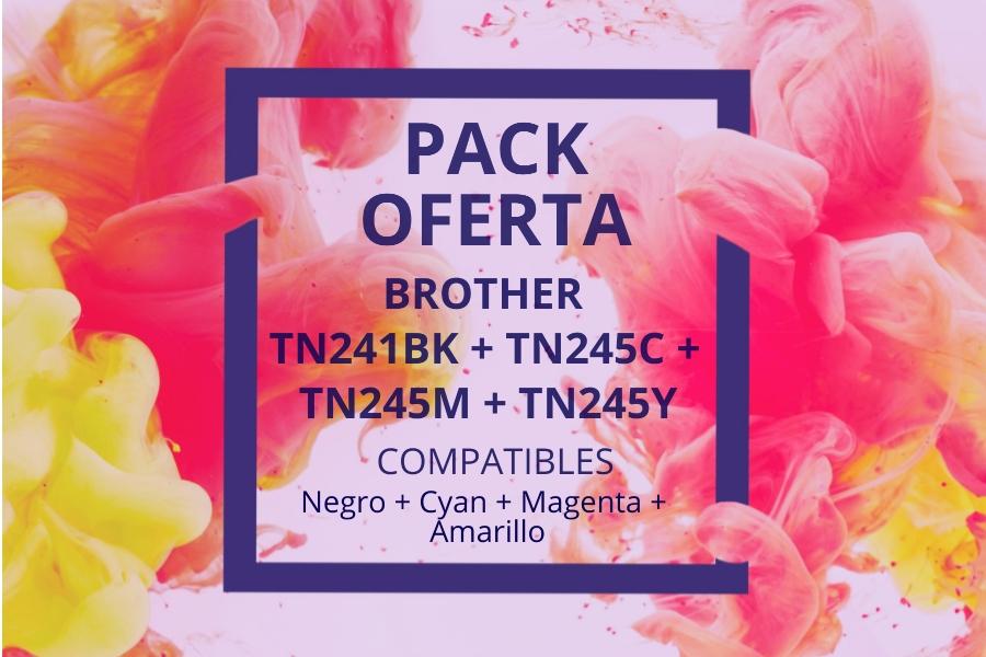 Pack Oferta Tóner TN241-TN245
