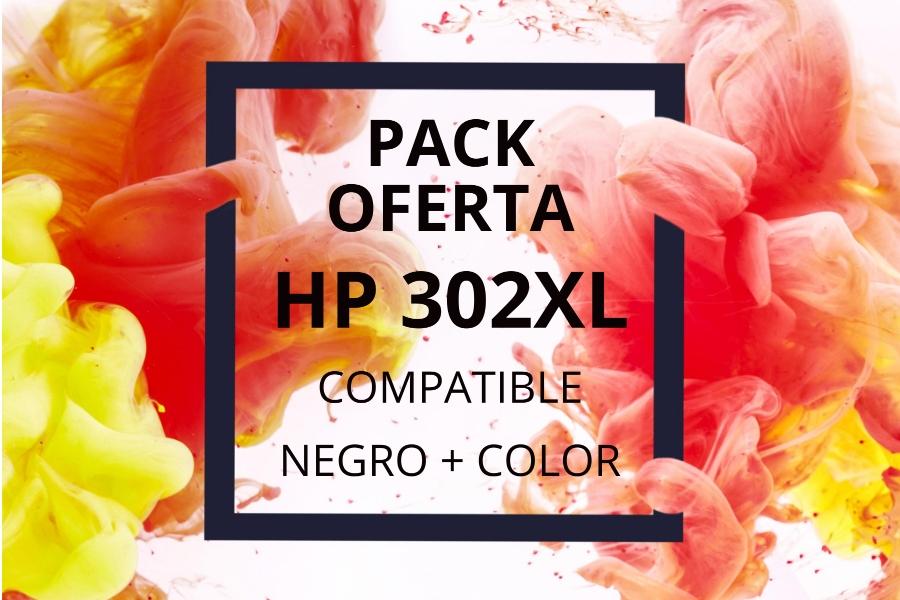 Pack Oferta Cartuchos HP 302XL