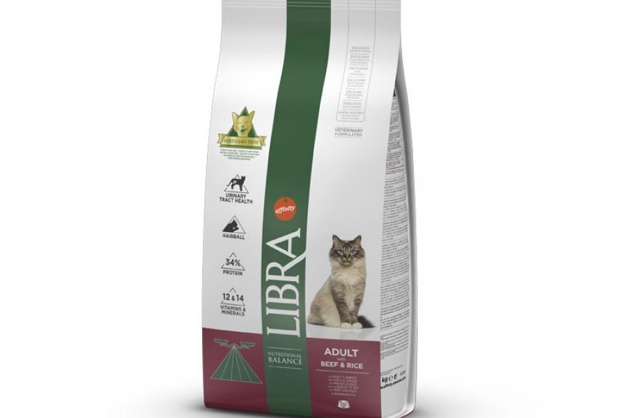 PIENSO PARA GATO LIBRA CAT ADULT BUEY 1,5KG