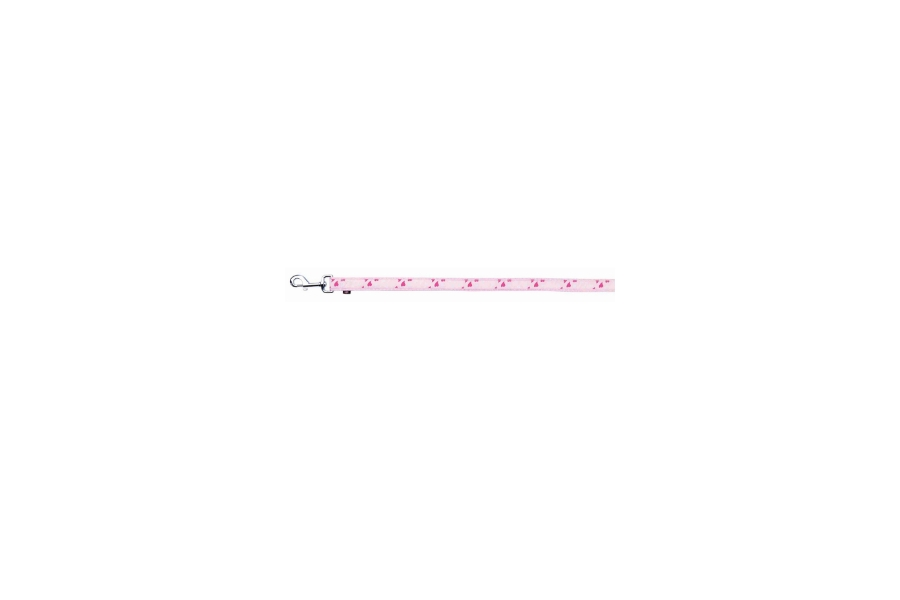 CORREA MODERM ART ROSE HEART DE NYLON XXS - XS, 1,20 m/10 mm