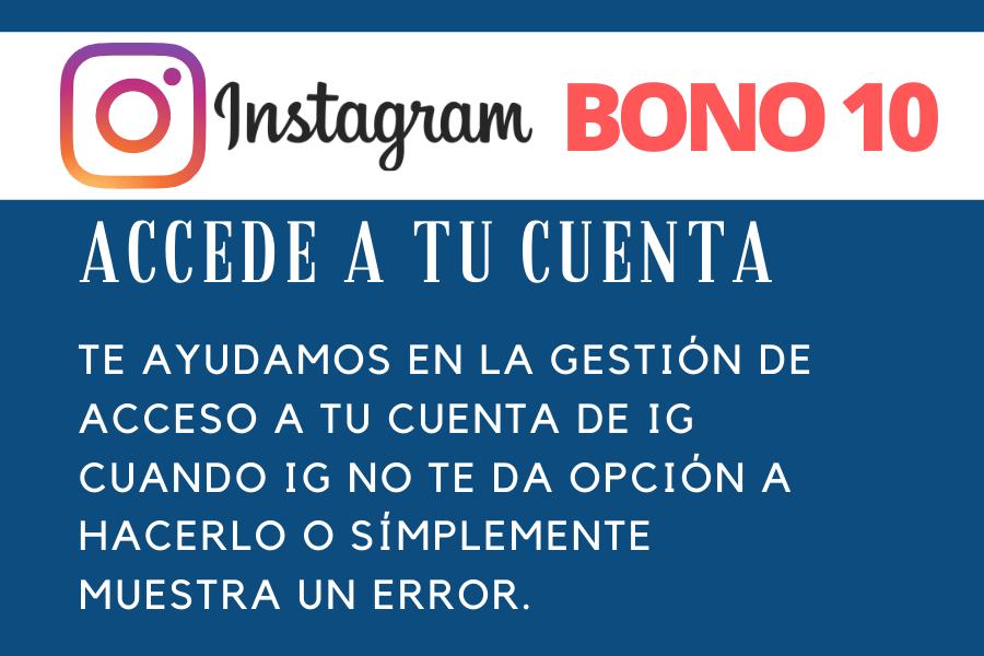 Bono 10 Recuperaciones de Cuenta IG