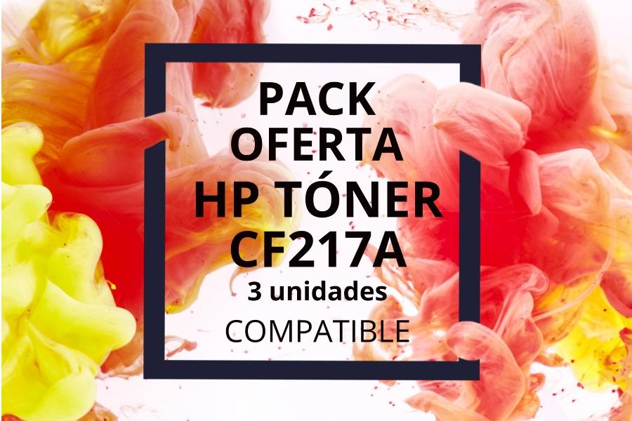 Oferta Pack Tóner HP CF217A