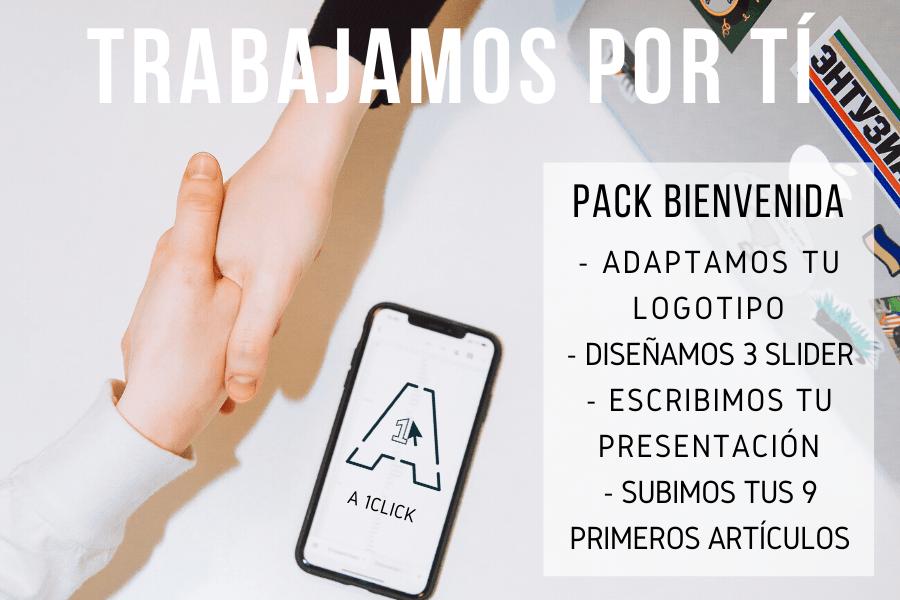 Pack Bienvenida
