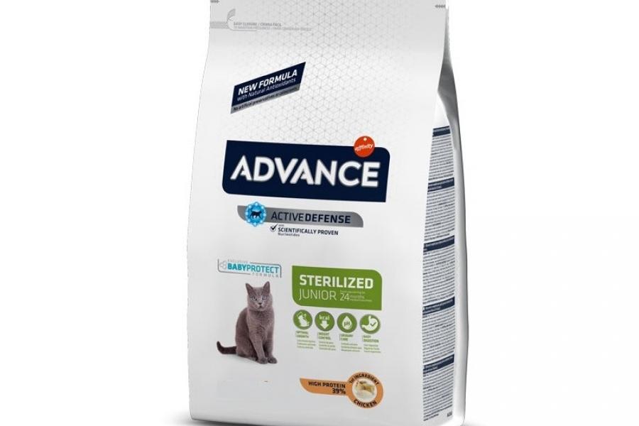 PIENSO PARA GATO ADVANCE CAT JUNIOR STERILIZED 1.5KG