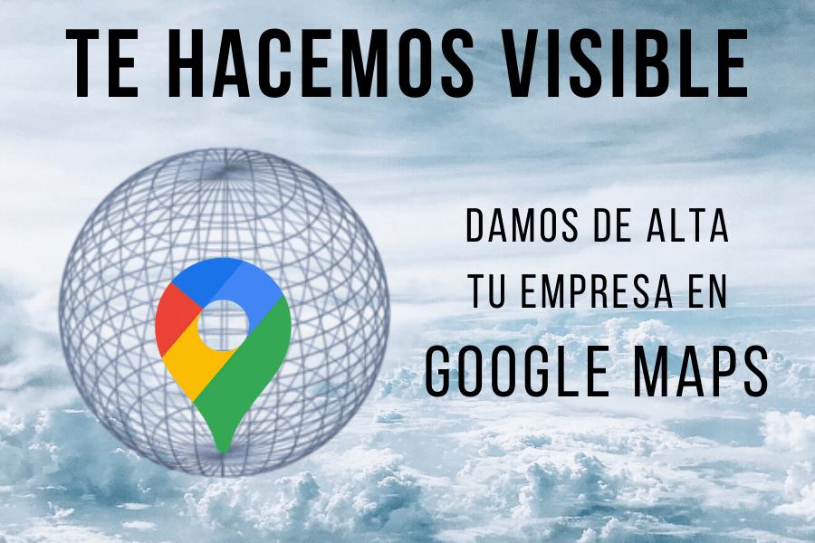 Alta en Google Maps para Empresas