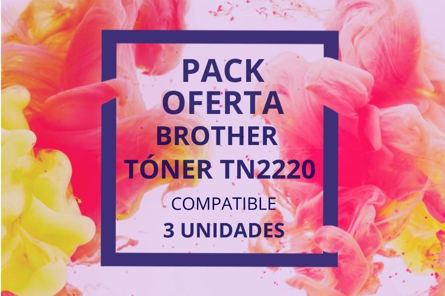 Pack Oferta Tóner Brother TN2220