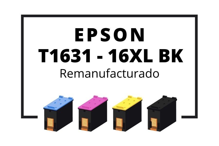 T1631 - 16XL Negro