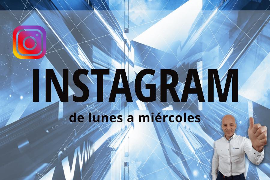 Instagram de Lunes a Miércoles